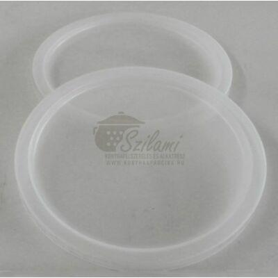 Étel, tál, edény fedő műanyag 14 cm<br/> Ema-Lion Bonyhád