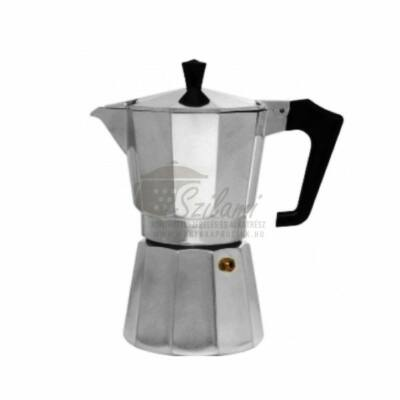 Kávéfőző 6 személyes alumínium