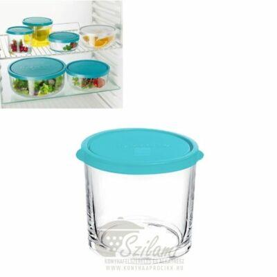 Ételtároló doboz üveg 0,35 liter Bormioli Frigoverre