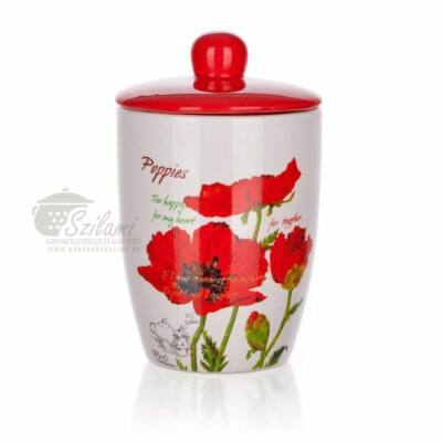 Cukortartó 0,6 liter kerámia Pipacs Banquet-Europe
