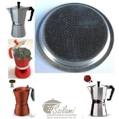 Felső szűrő 12 személyes Olasz-Kínai sokszögletű alumínium / Zanzibár / Pepita / Gat kávéfőzőhöz