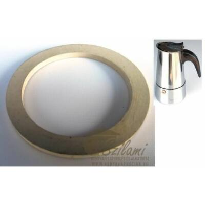 Gumi fehér 4 személyes rozsdamentes kávéfőzőhöz