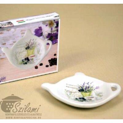 Tea filter alátét kerámia Levendula