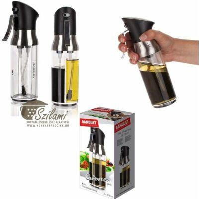 Olaj- és ecet spray<br/> 2 x 100 ml Banquet