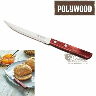 Steak kés fanyelű 12,5 cm Tramontina Polywood