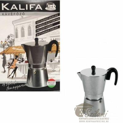 Kávéfőző 4 személyes Szarvasi Kalifa
