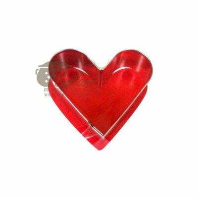 Kiszúró forma szív
