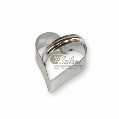 Kiszúró forma szív 8 cm