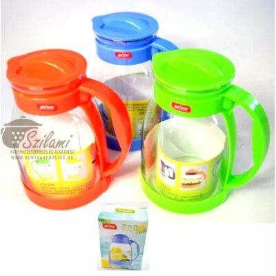 Teáskanna hőálló üveg 1,8 liter