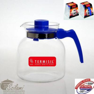 Teáskanna hőálló üveg 1,85 liter Termisil