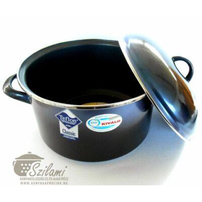 Teflon fazék fedővel 20 cm <br/>(3,25 literes) Elit <br/> Ema-Lion Bonyhád