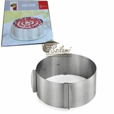 Tortagyűrű állítható 30 cm-ig